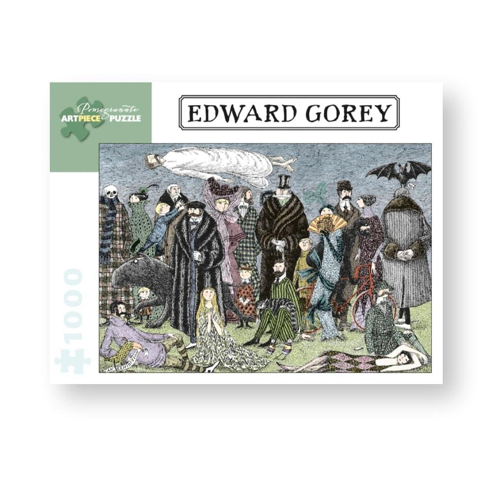 Pomegranate Edward Gorey : Untitled, 1965 1, 000- Piece Jigsaw Puzzle