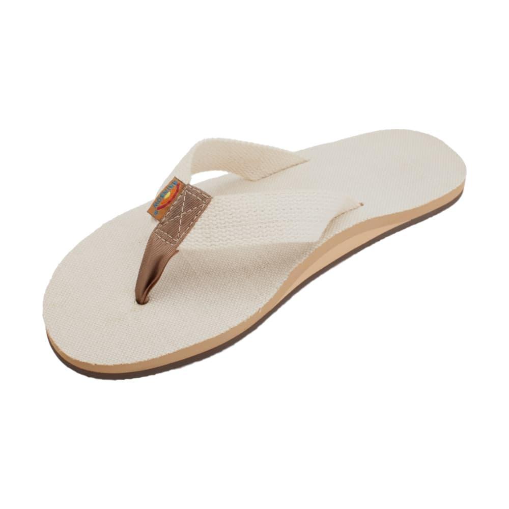 Rainbow Men's Single Layer Hemp Natural Sandals NATURAL