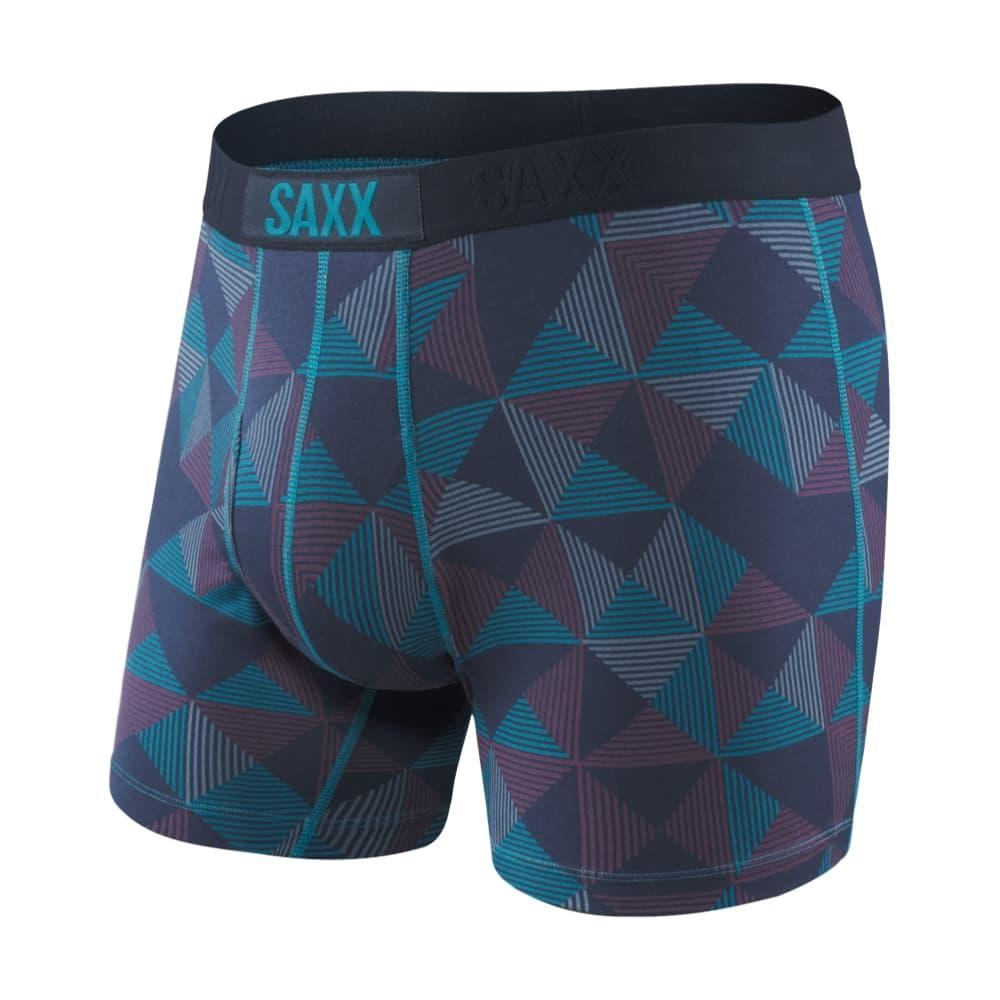 Saxx Men's Ultra Boxer Briefs NAVYPYRAMID