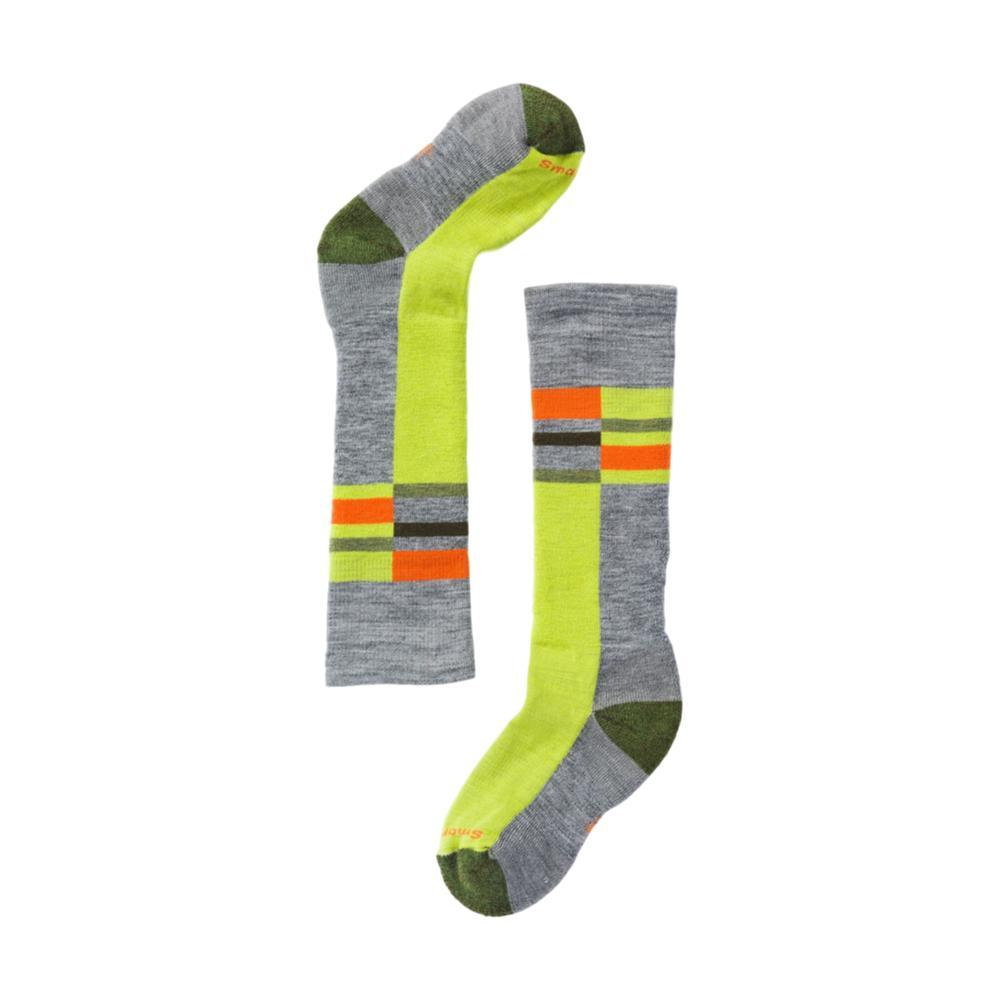 Smartwool Kids Wintersport Stripe Socks LIGHTGRAY_039