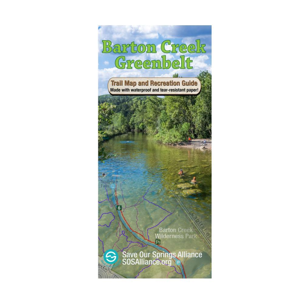 Barton Creek Greenbelt Trail Map by Save Our Springs Alliance AUSTIN