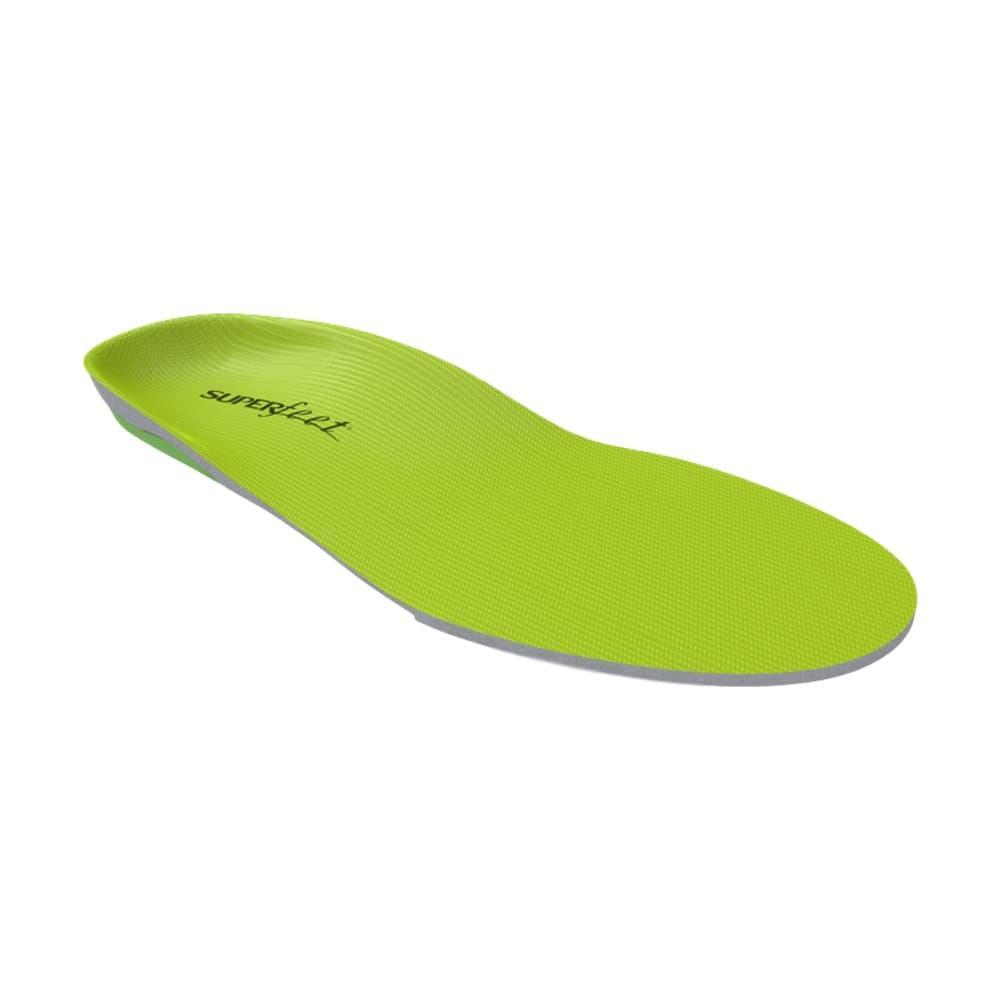 Superfeet Wide Green Insoles GREEN