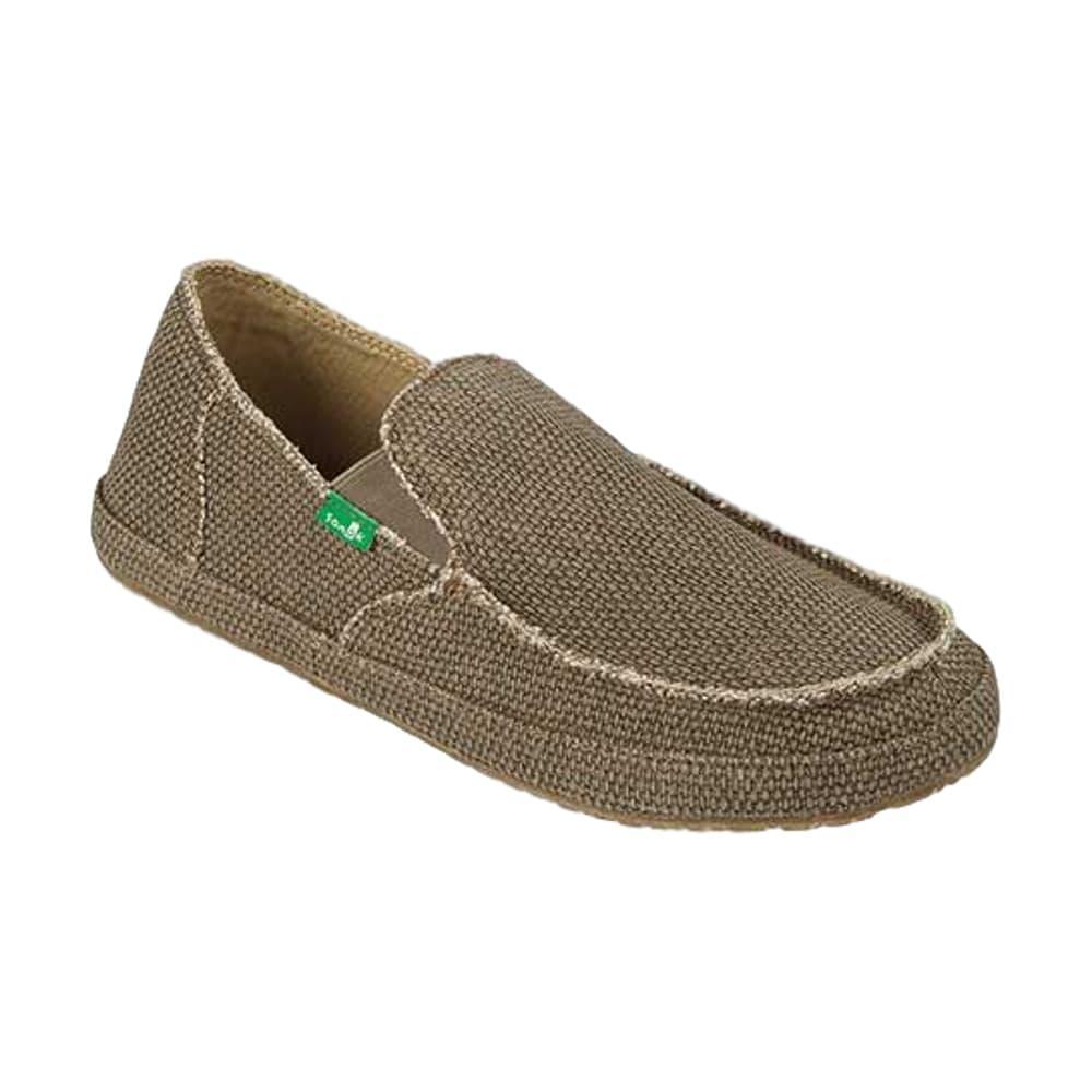 Sanuk Men's Rounder Shoes BROWN