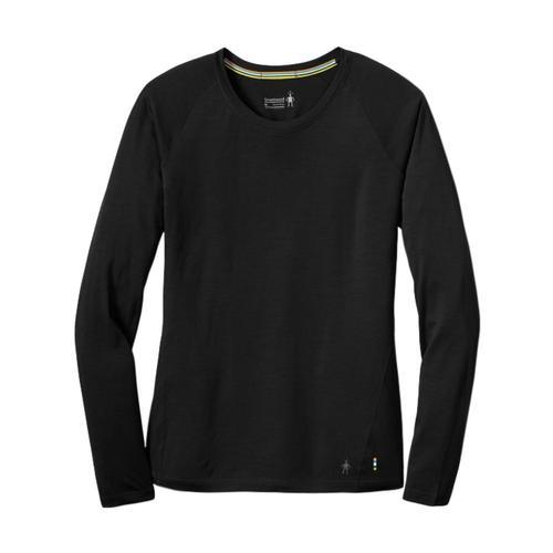 Smartwool Women's Merino 150 Base Layer Long Sleeve Top Black_001