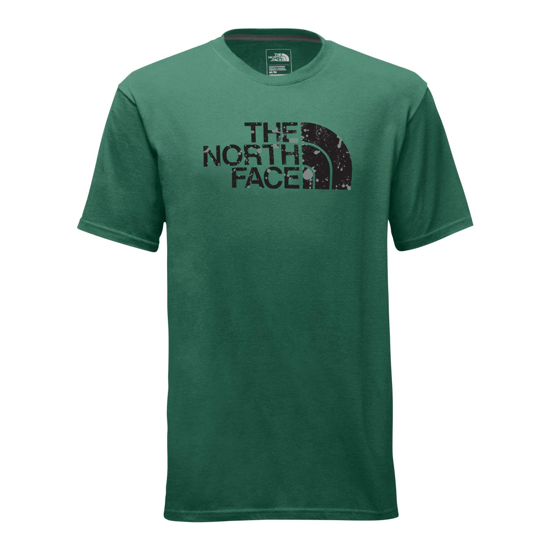North Face Men's Short-Sleeve Half Dome Homestead Tee SPGREEN_XTQ