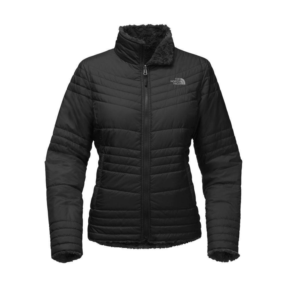 The North Face Women's Mossbud Swirl Jacket BLACK_JK3