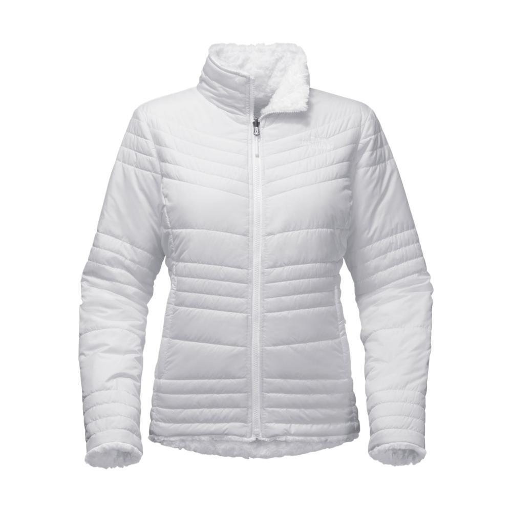 The North Face Women's Mossbud Swirl Jacket WHITE_FN4