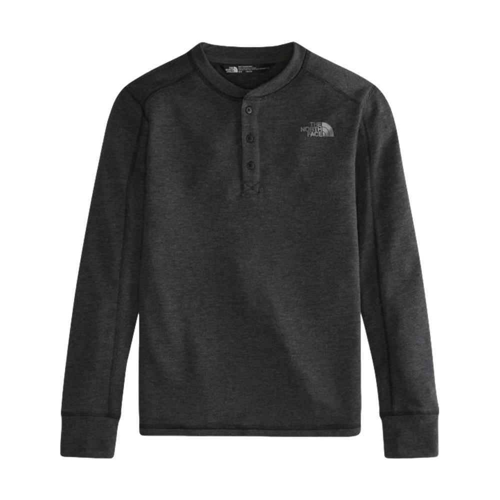 The North Face Boys Long Sleeve Henley BLKHTHRKS7