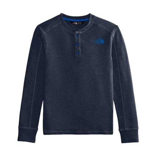 The North Face Boys Long Sleeve Henley