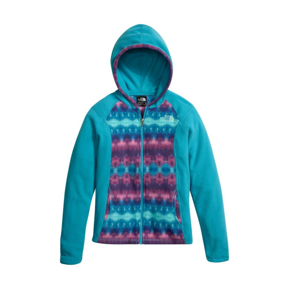 The North Face Girls Glacier Full Zip Hoodie BLUFRISLEVLY