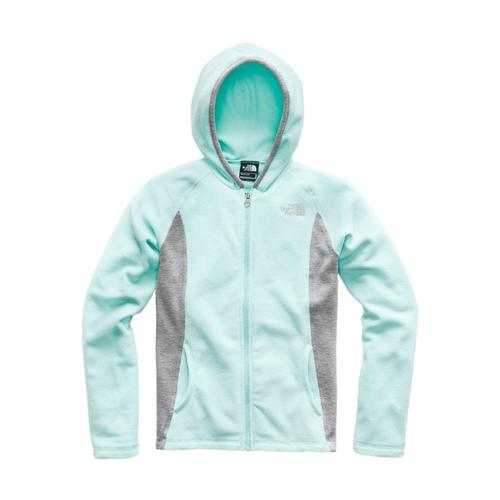 The North Face Girls Glacier Full Zip Hoodie Orblue_16e