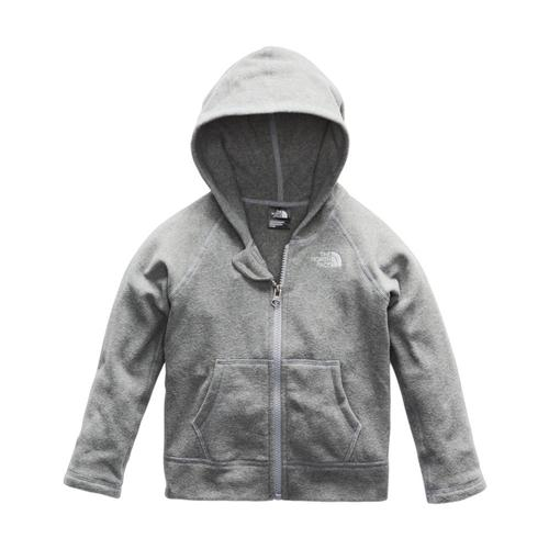 The North Face Toddler Glacier Full Zip Hoodie Grey_wcg