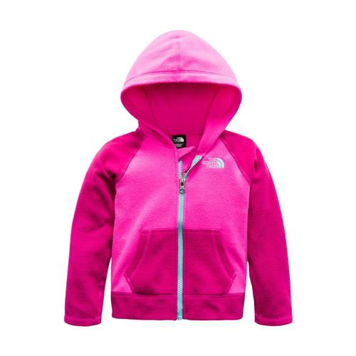 The North Face Toddler Glacier Full Zip Hoodie Pink_h0e