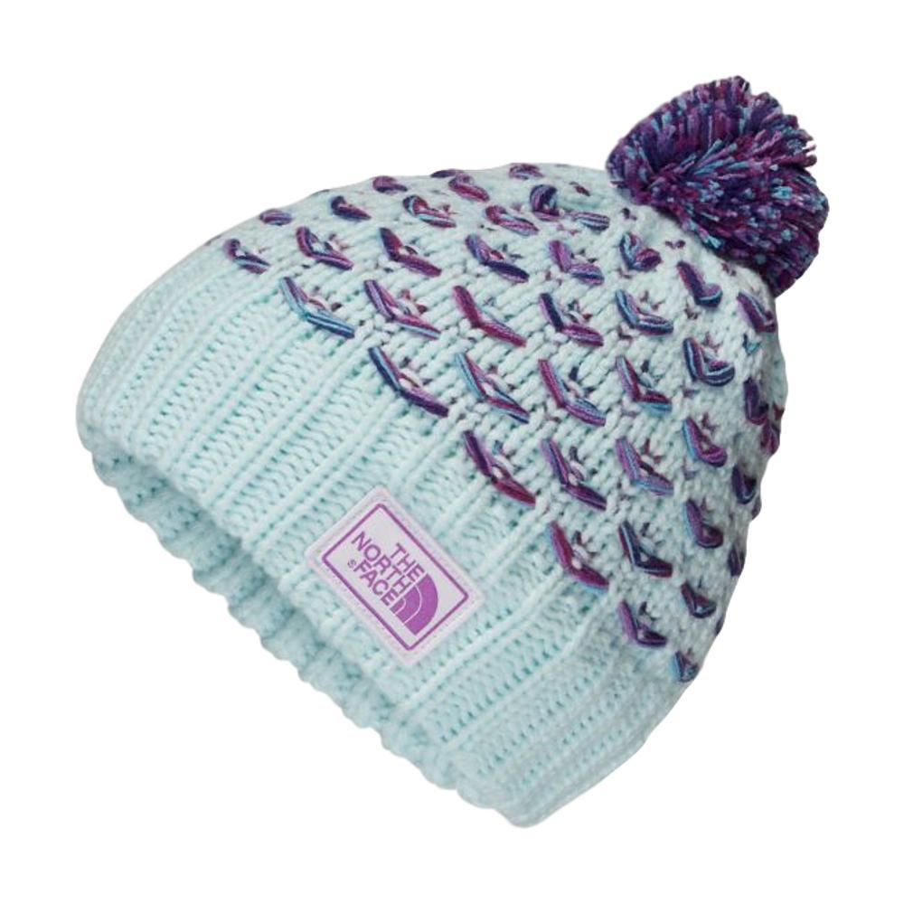 The North Face Girls Chunky Pom Beanie BLUEWMX