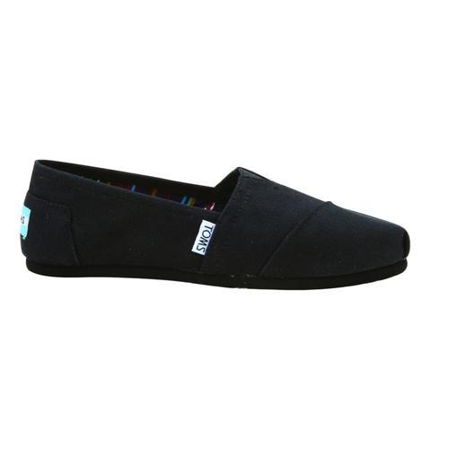0ba76d68b87 TOMS Women s Classic Canvas Shoes Black