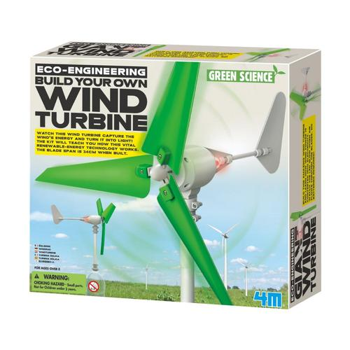 Toysmith 4M Wind Turbine Making Kit