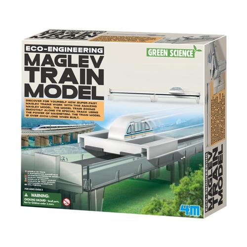 Toysmith 4M MagLev Train Model Making Kit