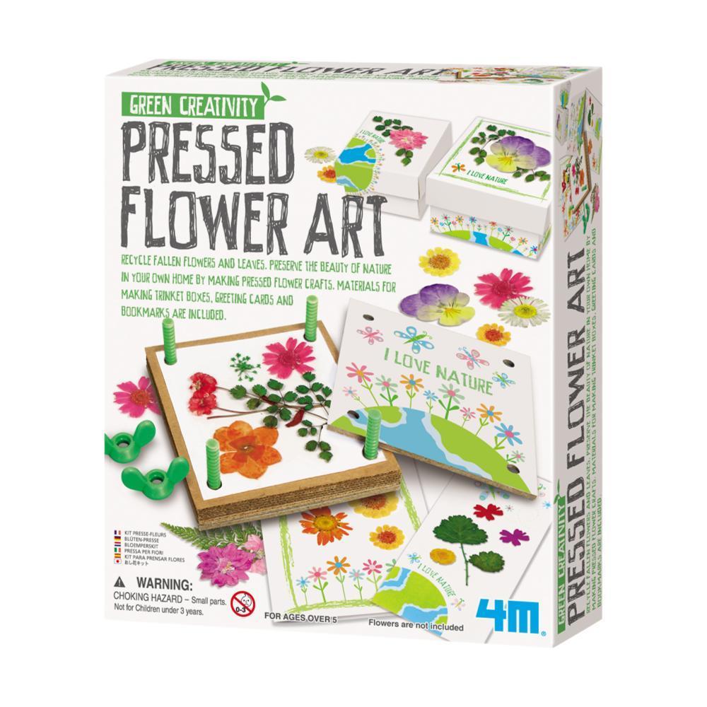 Toysmith 4m Flower Pressed Art Kit