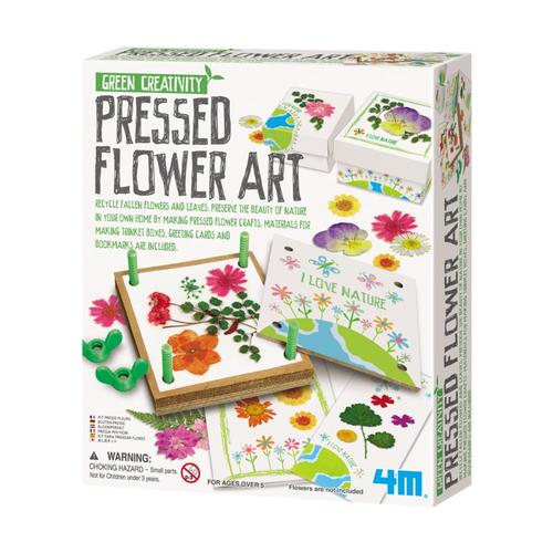 Toysmith 4M Flower Pressed Art Kit
