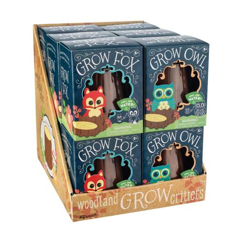 GROW FOX AND OWL