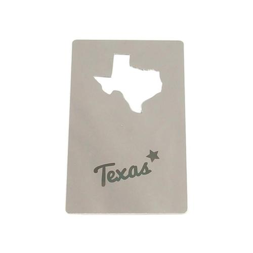 Zootility Texas Wallet Card Bottle Opener