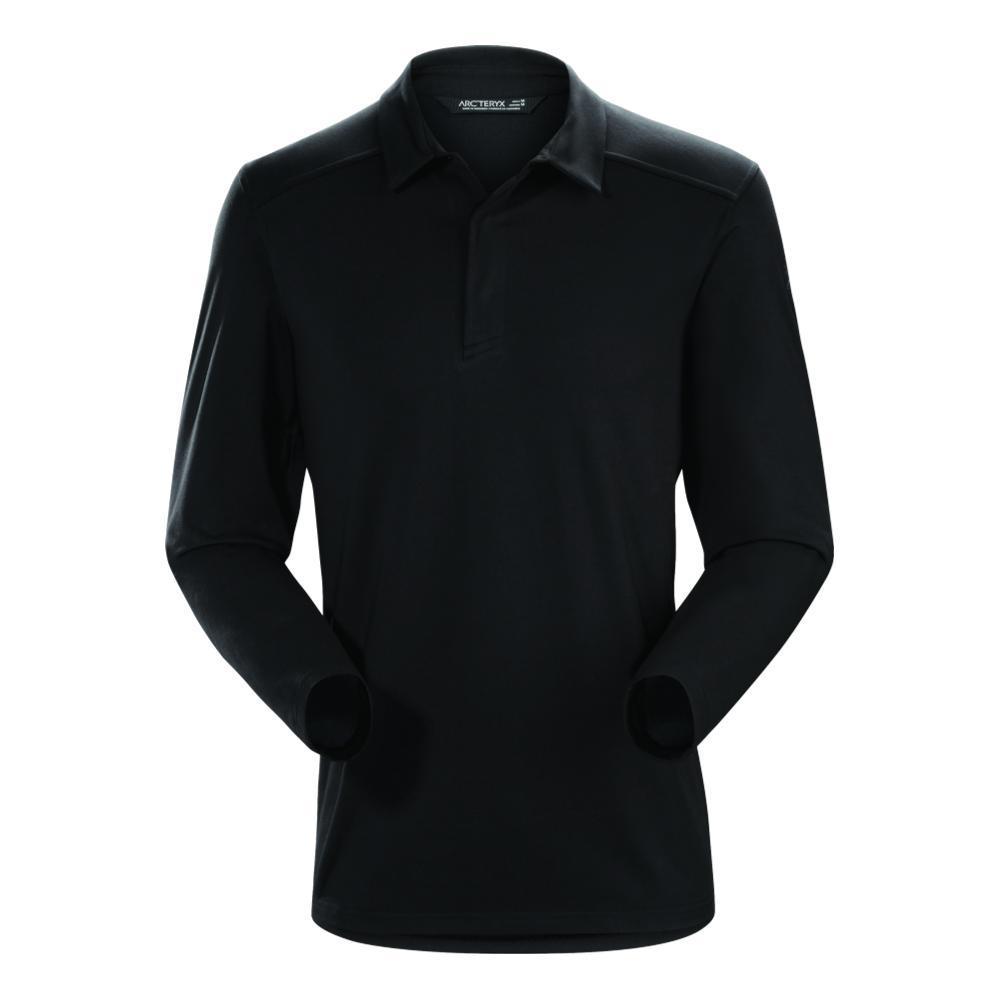Arc'teryx Men's Captive Polo Shirt LS BLACK