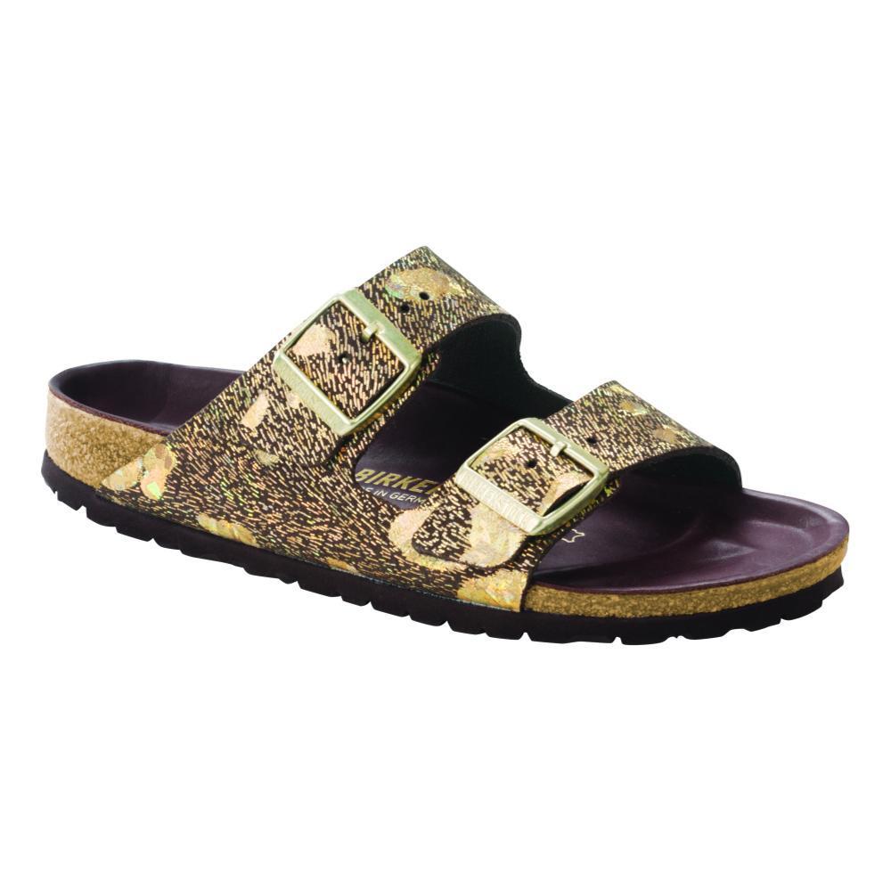 Birkenstock Women's Arizona Lux Sandals METALBRWN