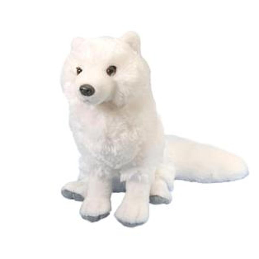Wild Republic Cuddlekins 12in Arctic Fox Stuffed Animal