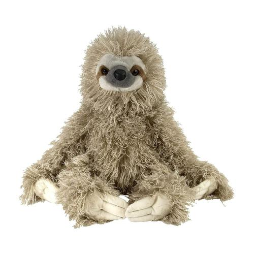 Wild Republic Cuddlekins 12in Three Toed Sloth Stuffed Animal