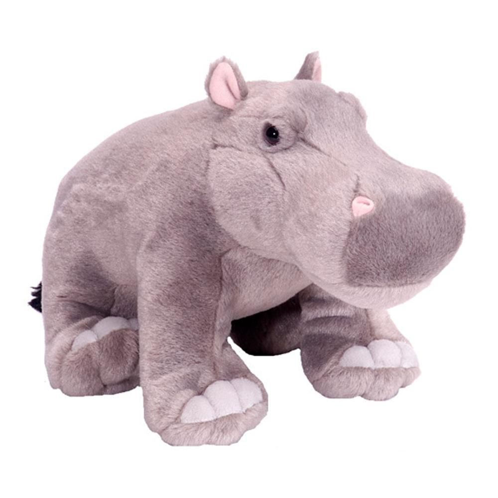 Wild Republic Cuddlekins 12in Hippo Stuffed Animal