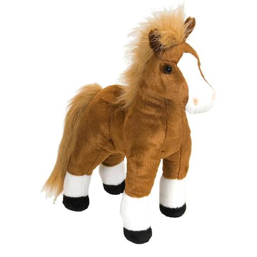 Wild Republic Cuddlekins 12in Brown Horse Stuffed Animal