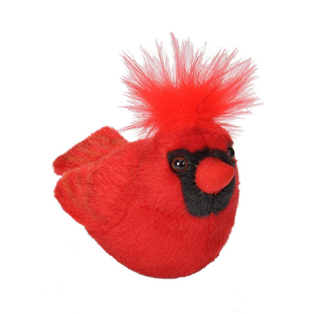 Wildlife Republic Audubon Birds Northern Cardinal Plush Bird With Sound