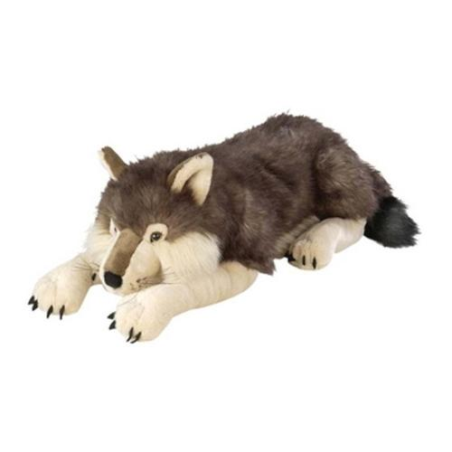 Wild Republic Cuddlekins 30in Jumbo Wolf Stuffed Animal