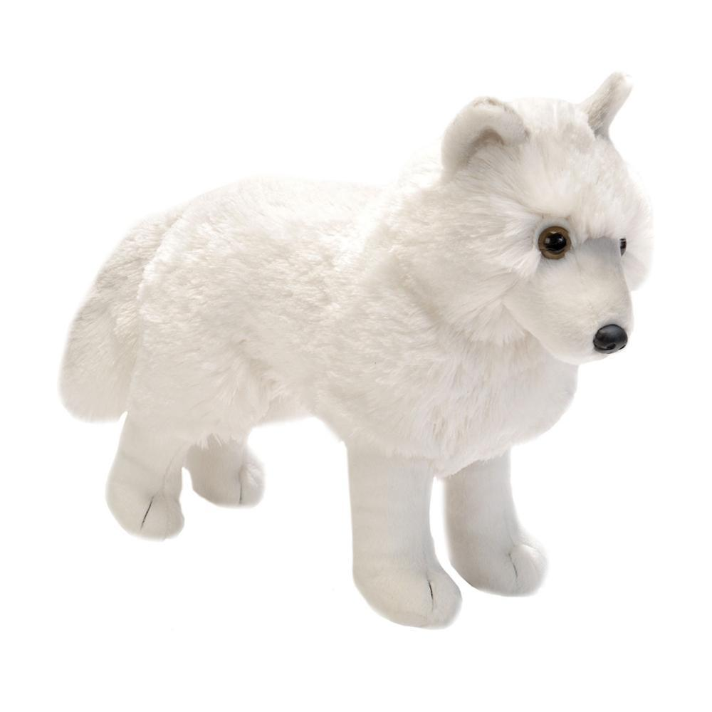 Wild Republic Cuddlekins 12in Standing Arctic Wolf Stuffed Animal