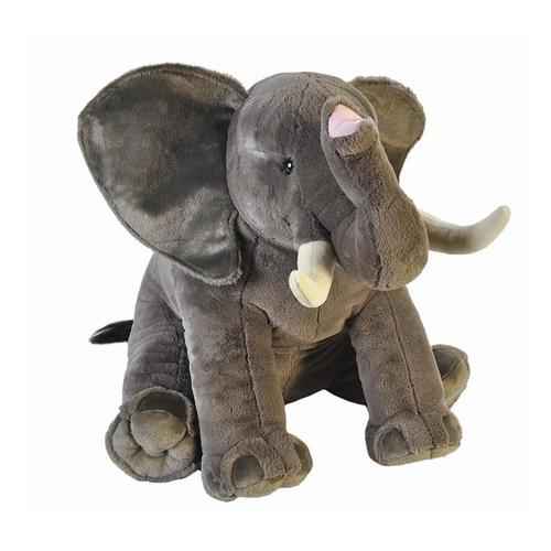 Wild Republic Little Biggies 30in African Elephant Stuffed Animal