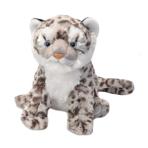 Wild Republic Cuddlekins 12in Snow Leopard Cub Stuffed Animal