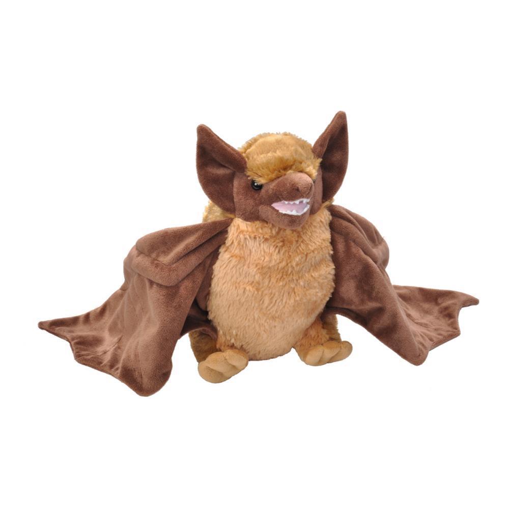 Wild Republic Cuddlekins 12in Brown Bat Stuffed Animal