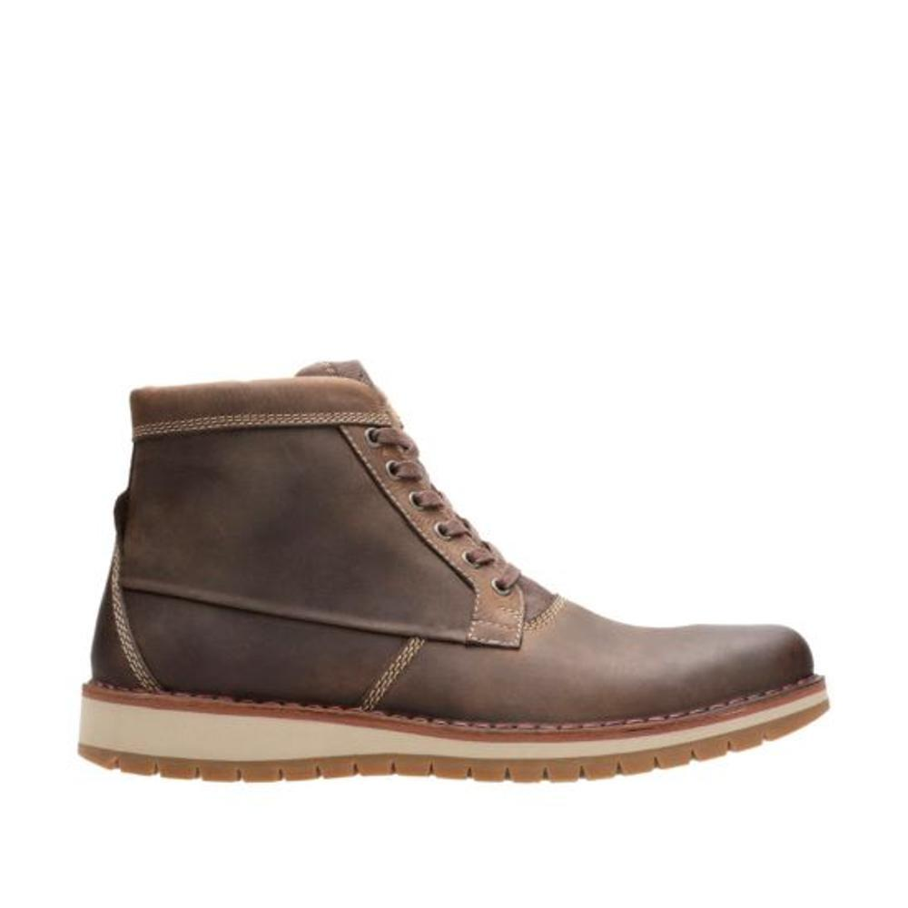 Clarks Varby Top Boots TAN