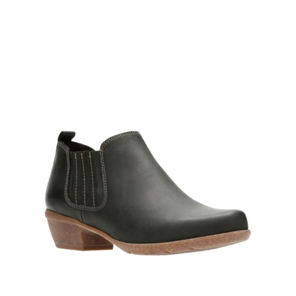 Clarks Women's Wilrose Jade Boots BLACK