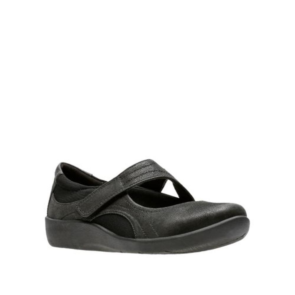 Clarks Women's Sillian Bella Shoes BLACK