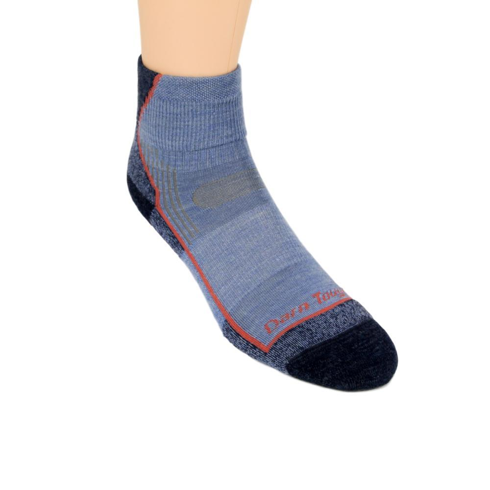 Darn Tough Women's Light Hiker Micro Crew Light Cushion Socks DENIM