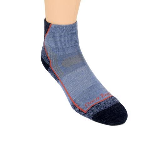 Darn Tough Women's Light Hiker Micro Crew Light Cushion Socks Denim