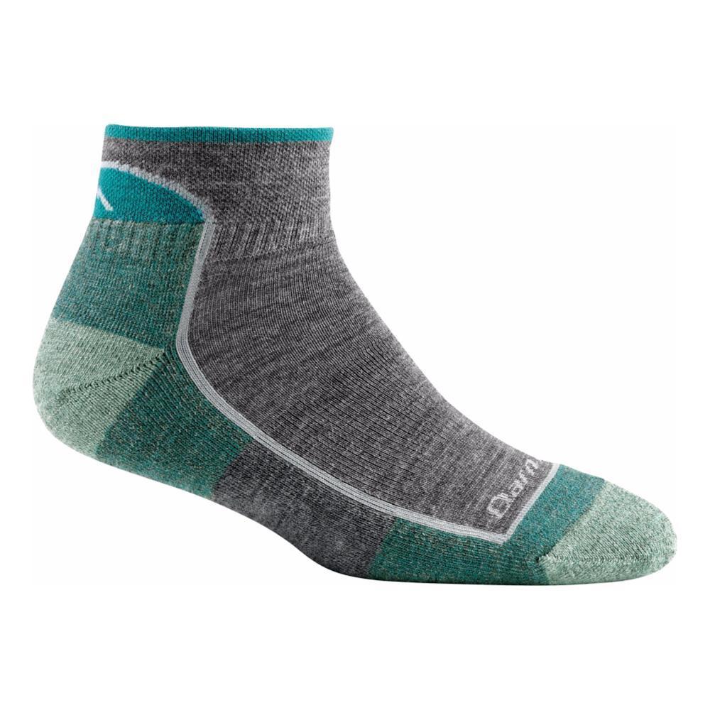 Darn Tough Women's Hiker 1/4 Sock Cushion Socks SLATE