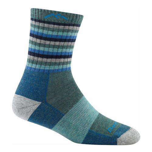 Darn Tough Women's Stripes Micro Crew Cushion Socks