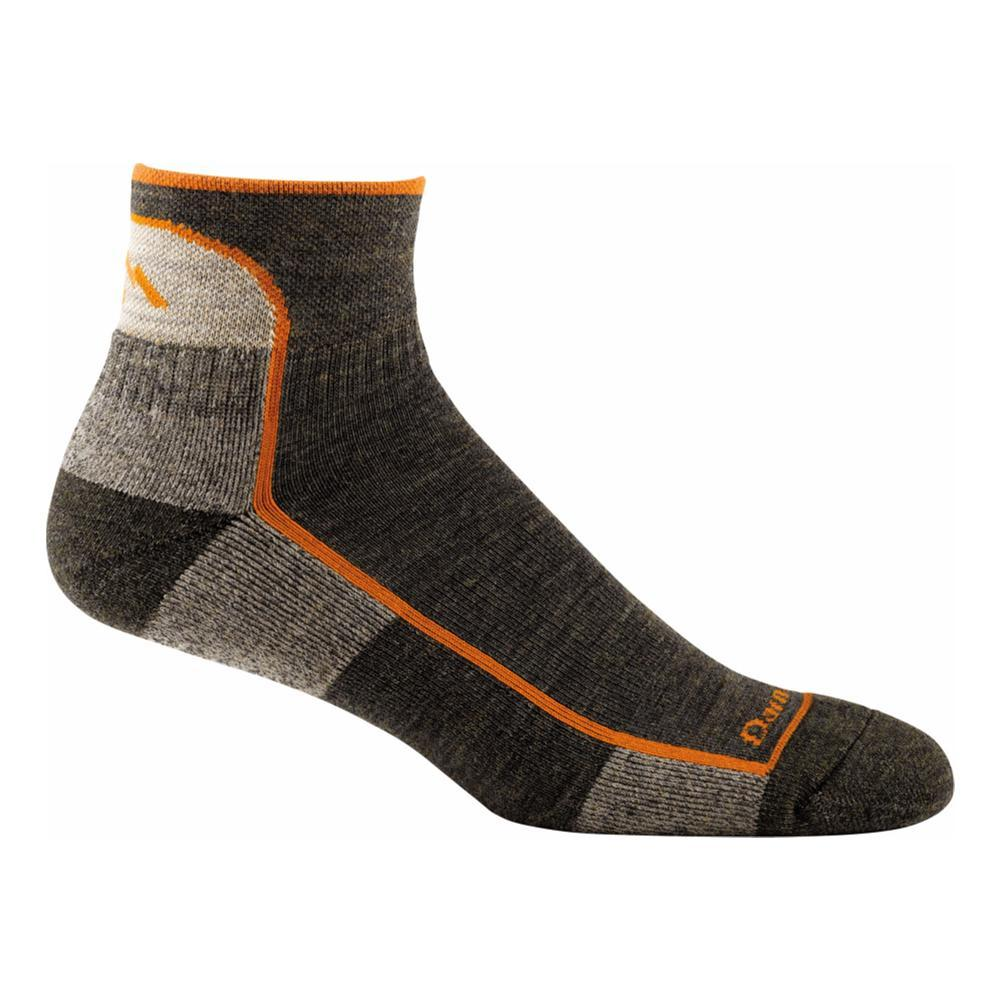Darn Tough Men's Hiker 1/4 Sock Cushion Socks OLIVE