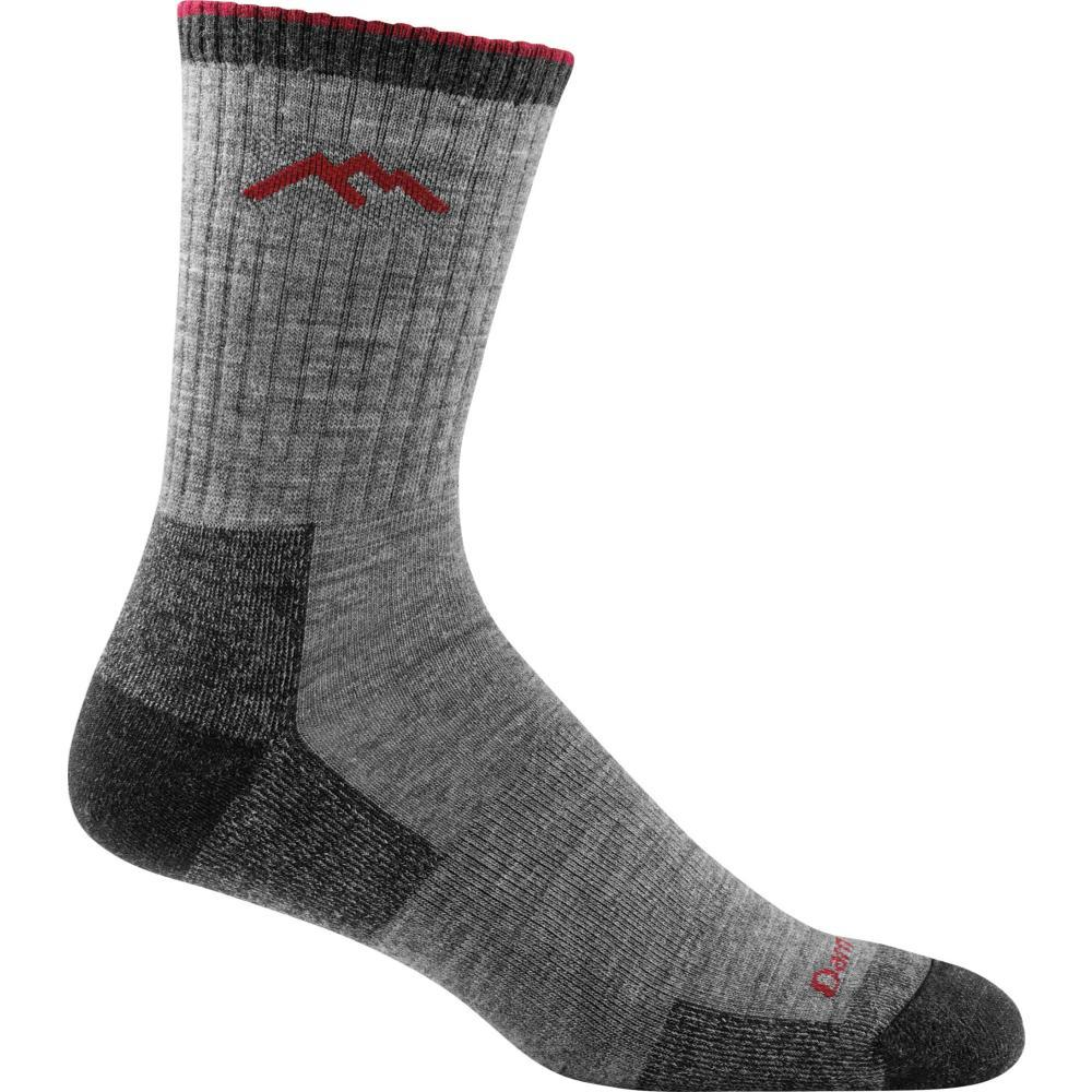 Darn Tough Men's Hiker Micro Crew Cushion Socks CHARCOAL