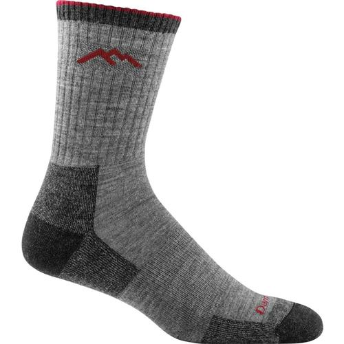 Darn Tough Men's Hiker Micro Crew Cushion Socks Charcoal