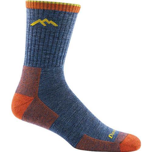 Darn Tough Men's Hiker Micro Crew Cushion Socks Denim