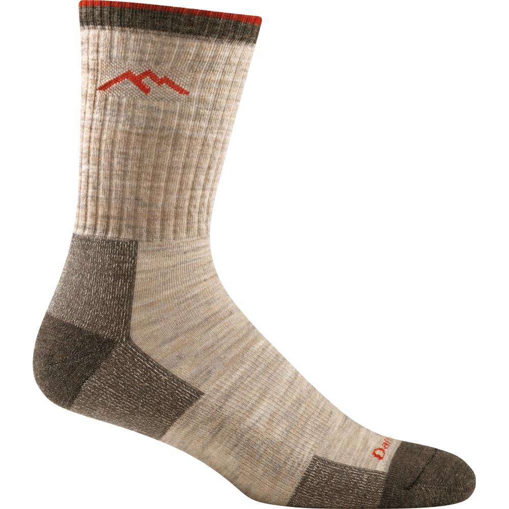 Darn Tough Men's Hiker Micro Crew Cushion Socks OATMEAL