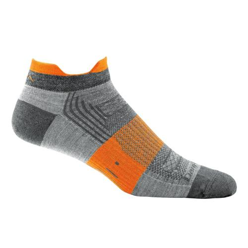 Darn Tough Men's Juice No Show Tab Light Socks Gray